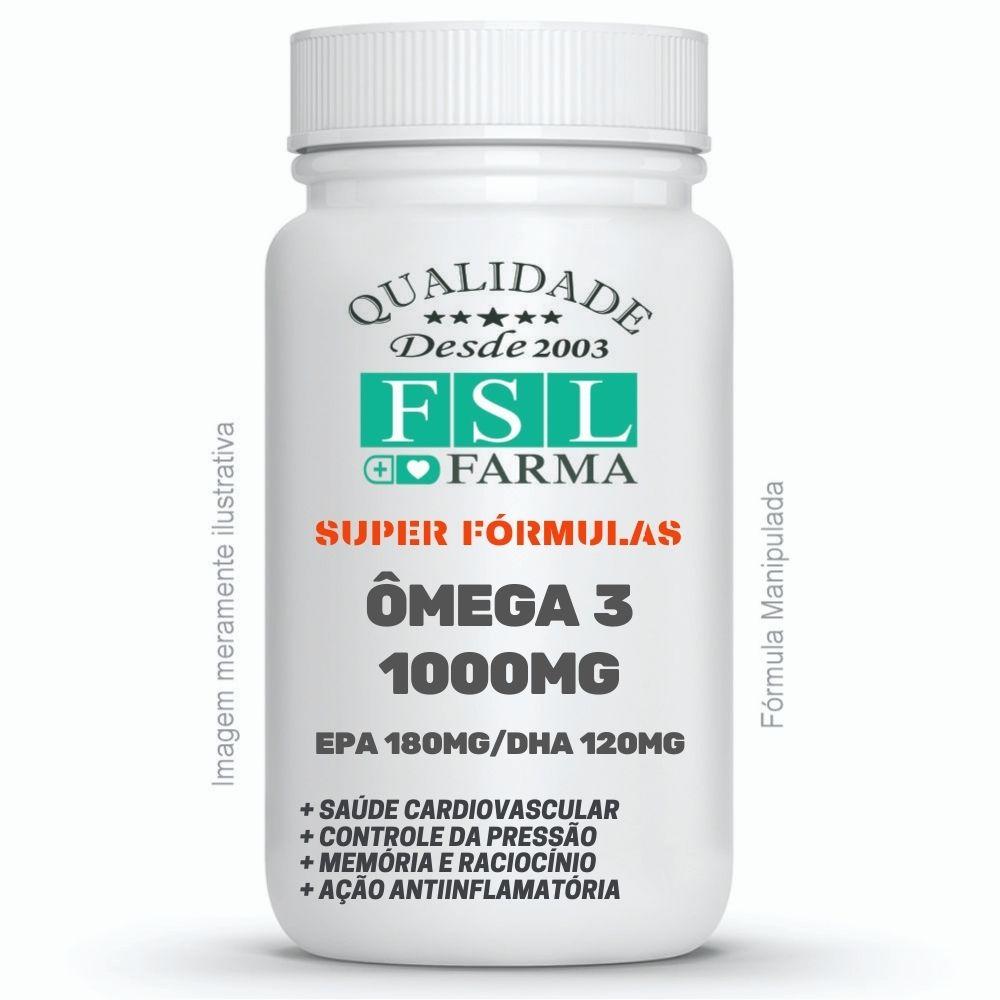 Omega 3 180mg EPA + 120mg DHA + Vit E 10UI ®