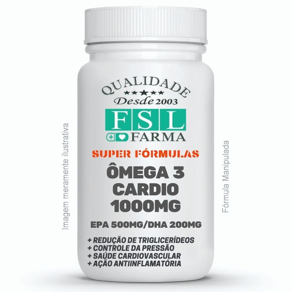 Omega 3 Cardio 500mg de EPA e 200mg de DHA ®