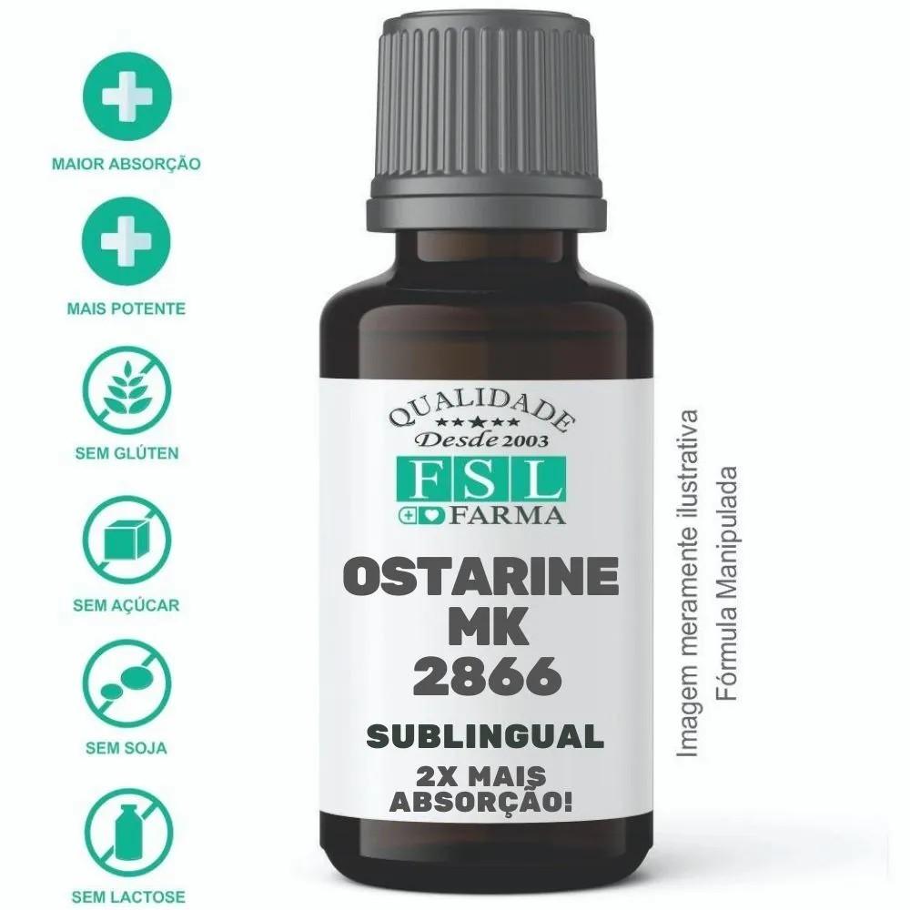 Ostarine 10mg/5Gotas Sublingual