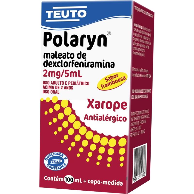 Polaryn (Maleato De Dexclorfeniramina) 0,4 Mg/100 Ml
