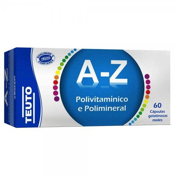Polivitamínico Vitamina A-Z Com 60 Cápsulas