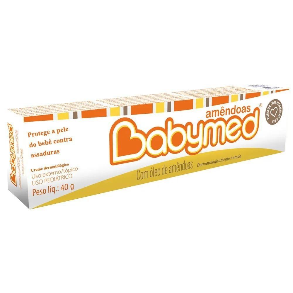 Pomada Para Prevenção De Assaduras Babymed Amêndoas 40G