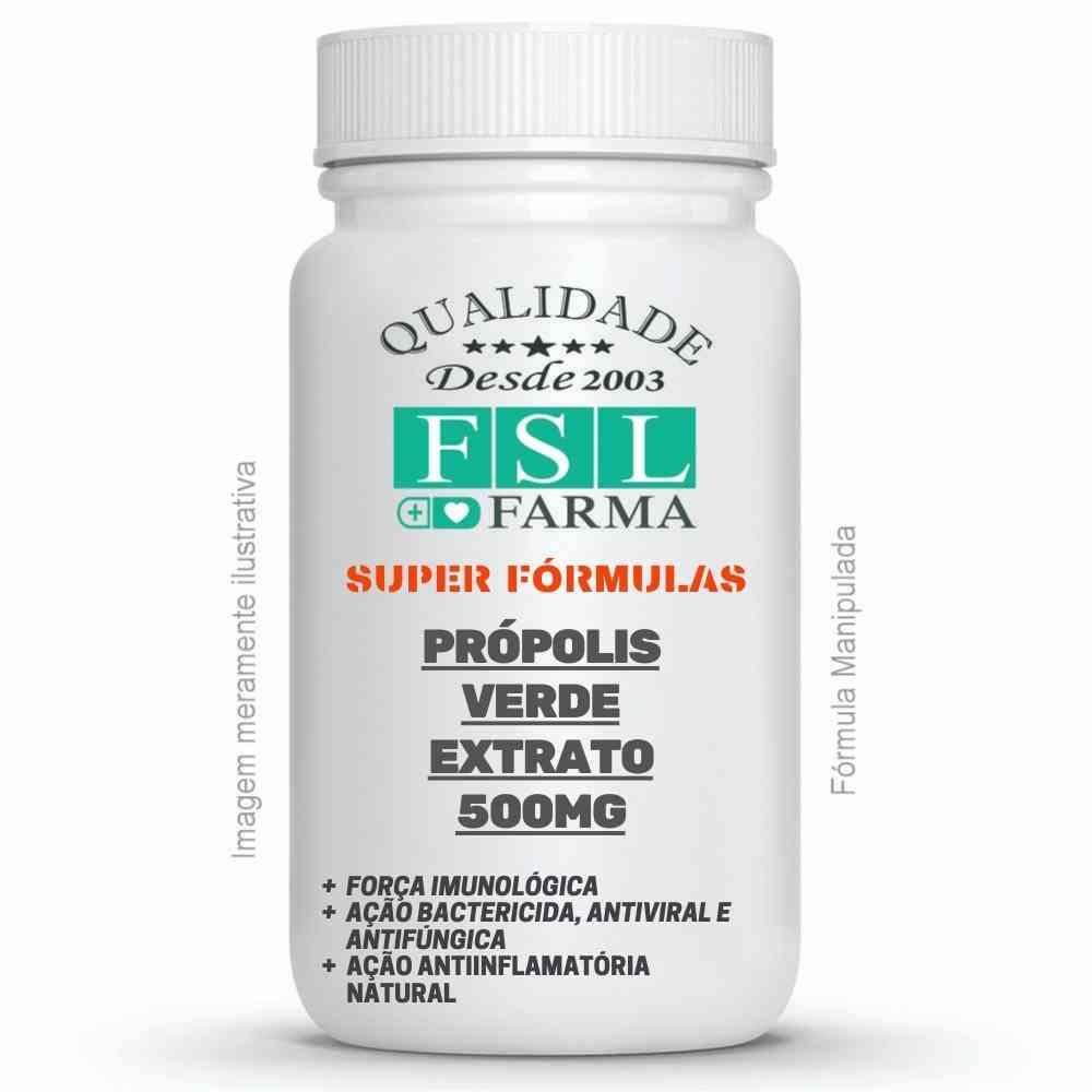 Própolis Verde 500Mg - Extrato Seco Concentrado ®