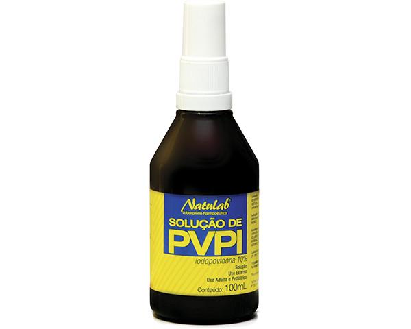 Solução de PVPI iodopovidona 10% Spray 100ml - Natulab