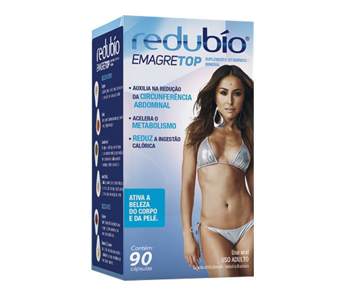 Redubío Emagretop 90 cápsulas - Cimed