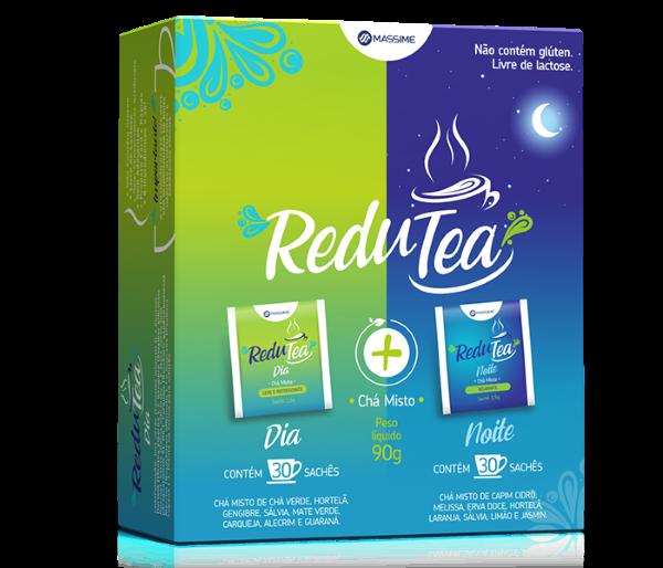 Redutea Chá Misto Relaxante Noite e Dia 60 Sachês