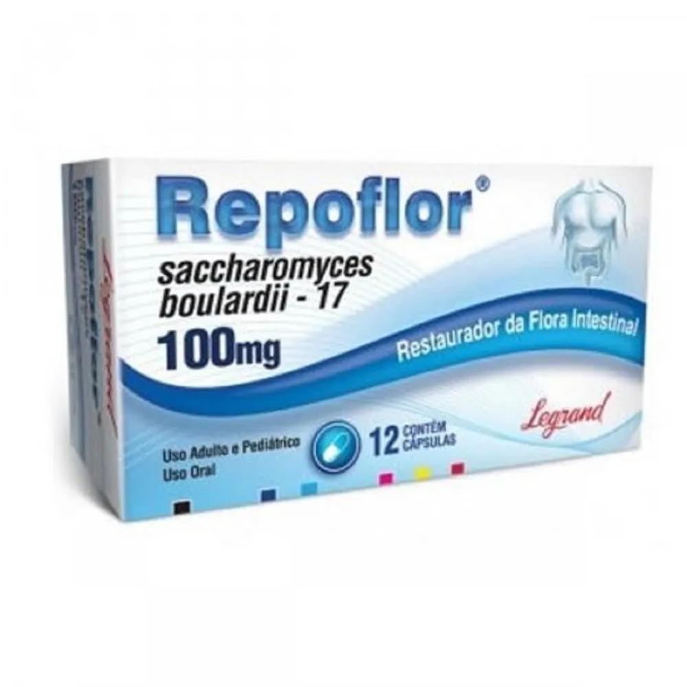 Repoflor 100Mg 12 Cápsulas