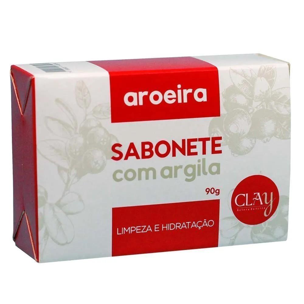 SABONETE PURO ARGILA EM BARRA 85g - ARGILOTERAPIA