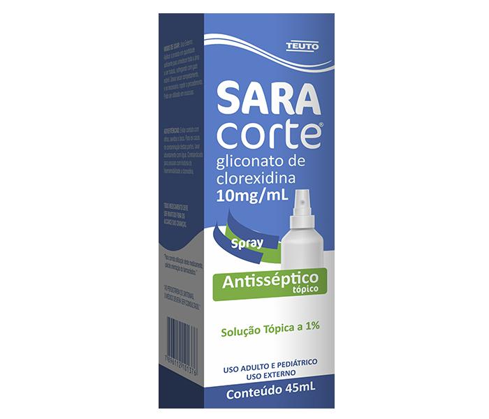 Saracorte 10mg/ml Spray 45ml - Teuto