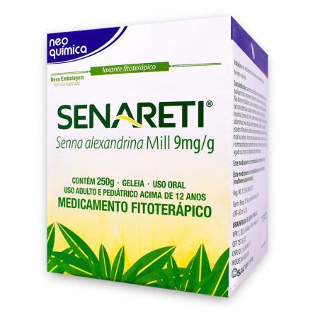 Senareti (Senna Alexandrina Mill.) Geléia 250 G