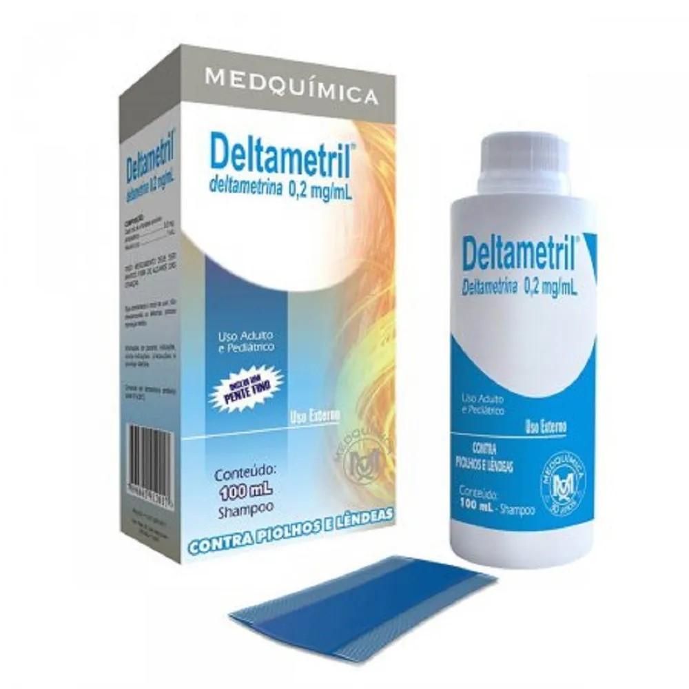 Shampoo Deltametril 0,2Mg/Ml Deltametrina 100 Ml