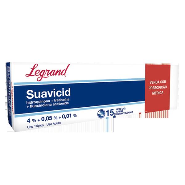 Suavicid Creme 15g - Legrand