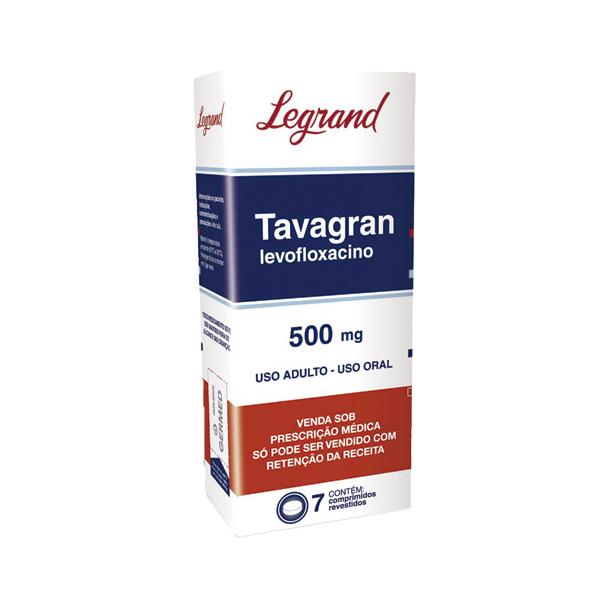 Tavagran 500mg com 7 comprimidos - Legrand