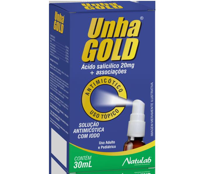 Unha Gold Spray 30ml - Natulab