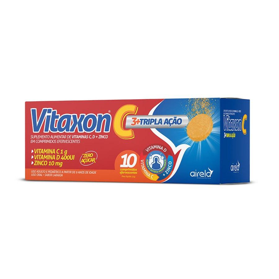 VITAXON C TRIPLA AÇÃO 10 comprimidos