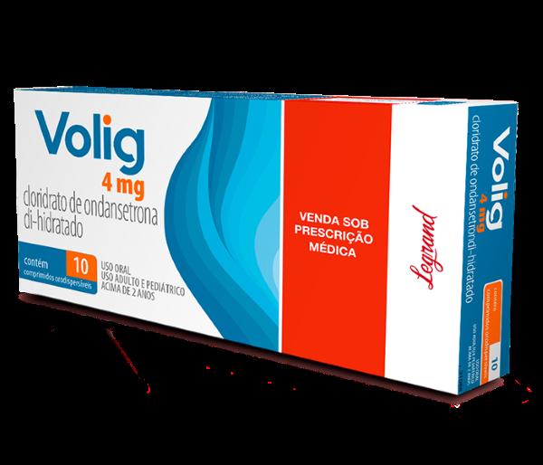 Volig 4mg com 10 comprimidos - Legrand