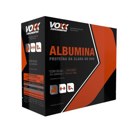 Voxx Suplementos Albumina s/ Sabor 500g