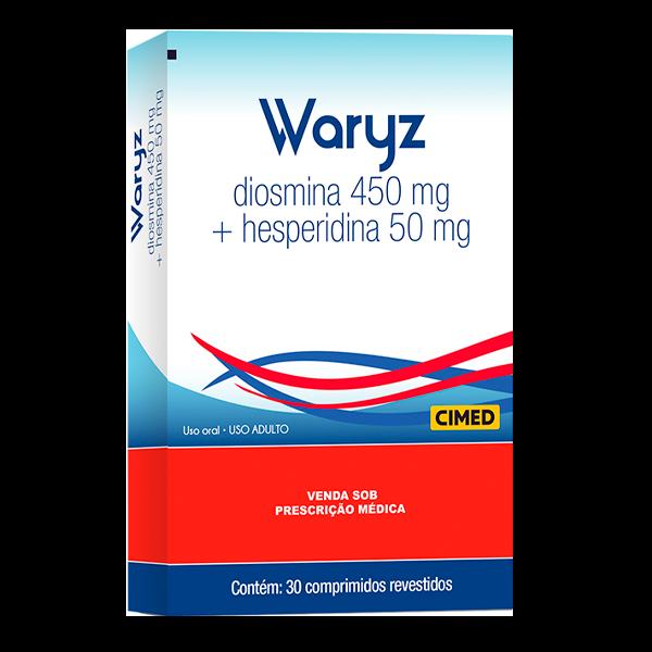 Waryz 450mg + 50mg com 30 comprimidos - Cimed