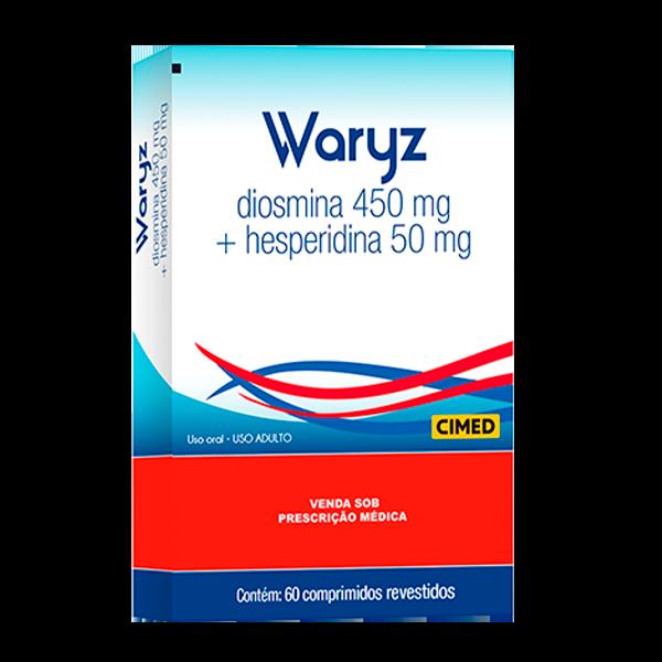 Waryz 450mg + 50mg com 60 comprimidos - Cimed