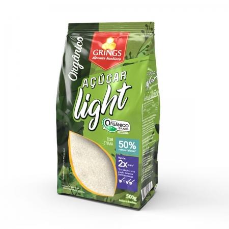 Açúcar Light Orgânico 500g - Grings