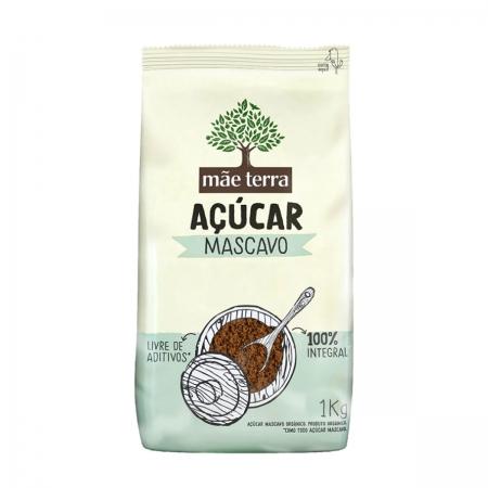 Açúcar Mascavo 1kg - Mãe Terra
