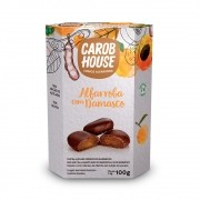 Alfarroba com Damasco 100g - Carob House