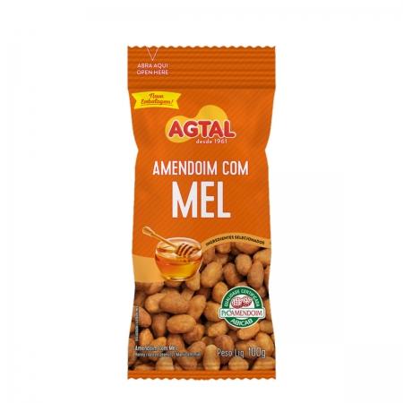 Amendoim com Mel 100g - Agtal