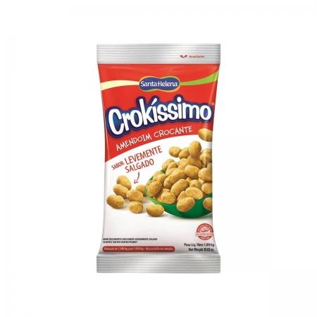 Amendoim Crocante Levemente Salgado Crokíssimo 1,01kg - Santa Helena