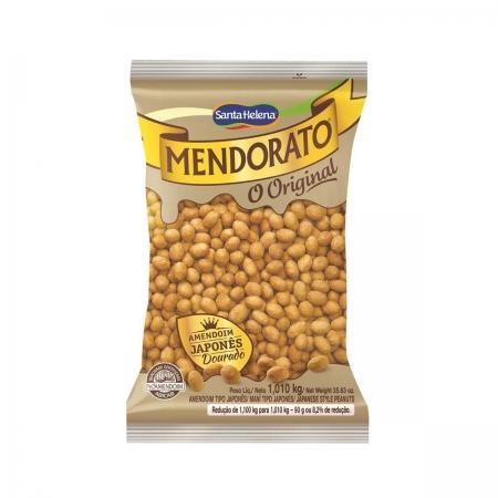 Amendoim Japonês Dourado Original Mendorato 1,01kg - Santa Helena