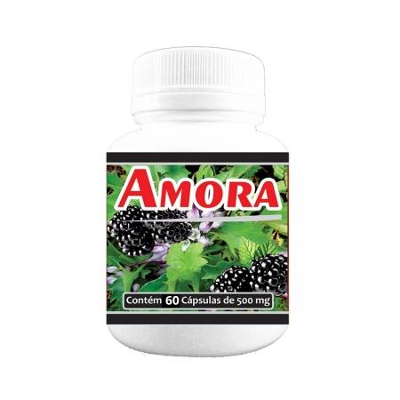Amora 500mg 60 cápsulas - Poly Flora