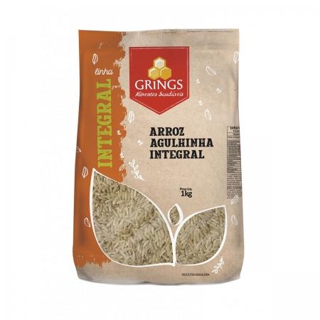 Arroz Integral Agulhinha 1kg - Grings