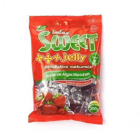 Bala de Algas Marinhas sabor morango 200g - Sweet Jelly