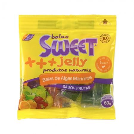 Bala de Algas sabor Frutas 60g  - Sweet Jelly