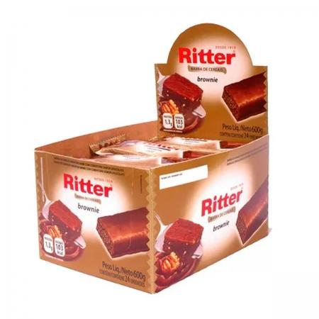 Barra de Cereal Brownie display com 24 un - Ritter
