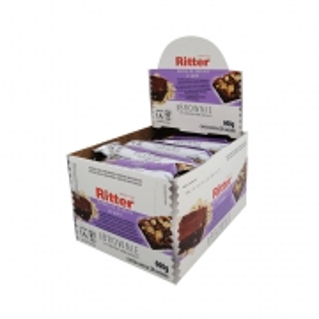 Barra de Cereal Light Brownie display com 24 un - Ritter