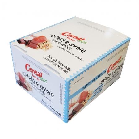 Barra de Cereal Mix Avelã, Aveia e Chocolate display com 24 un - Ritter