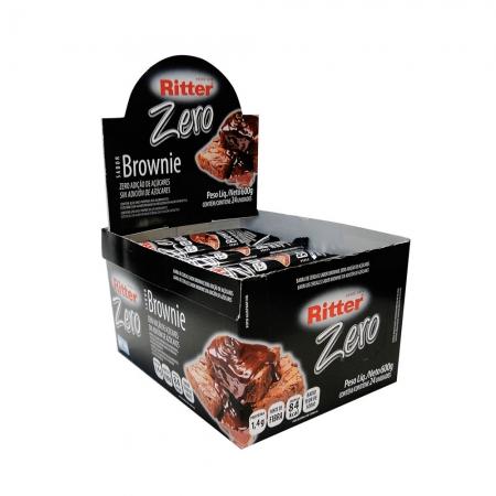 Barra de Cereal Zero Brownie display com 24 un - Ritter
