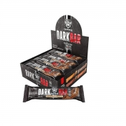 Barra de Proteína DarkBar Sabor Cookies Cream Display com 8un de 90g - Darkness