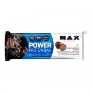 Barra de Proteína Power Protein Bar Sabor Dark Chocolate 90g - Max Titanium