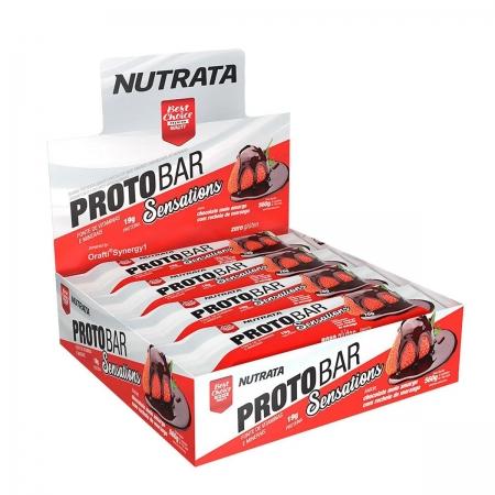 Barra de Proteína sabor Sensations Display com 8 un de 70g - Nutrata
