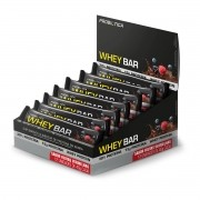 Barra de Proteína Whey Bar Sabor Frutas Vermelhas Display com 12un de 40g - Probiotica