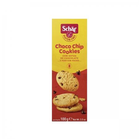 Biscoito Choco Chip com Gotas de Chocolate 100g - Schar