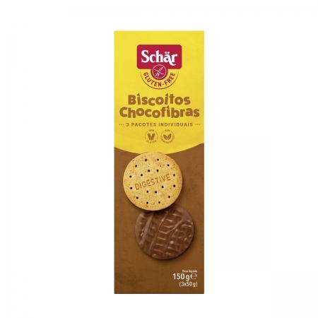 Biscoito Chocofibras 150g - Schar