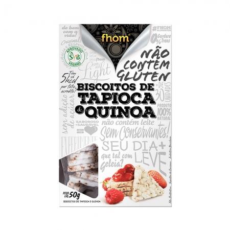Biscoito de Tapioca e Quinoa 50g- Fhom