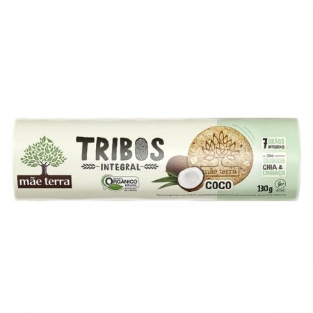 Biscoito Tribos Orgânico Coco 130g - Mãe Terra