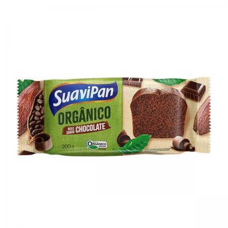 Bolo de Chocolate Orgânico 200g - Suavipan