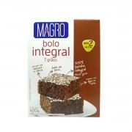 Bolo integral sabor 7 grãos 400g - Magro