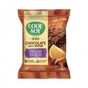 Brownie Sem Glúten Chocolate Sabor Laranja 40g - Good Soy