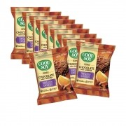 Brownie Sem Glúten Chocolate Sabor Laranja com 10 unidades de 40g - Good Soy