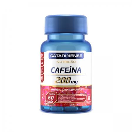 Cafeína 200mg 60 cápsulas - Catarinense